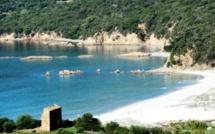 The neighboring beaches